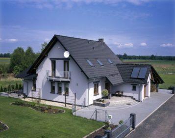 projekt domu a obszar oddzialywania budynku