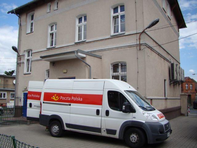 Budynek Poczty Polskiej w Mosinie