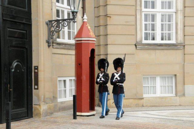 Kopenhaga - zamek królewski