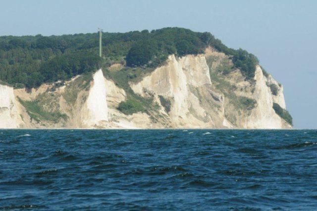 klify na Wyspie Mon (Dania