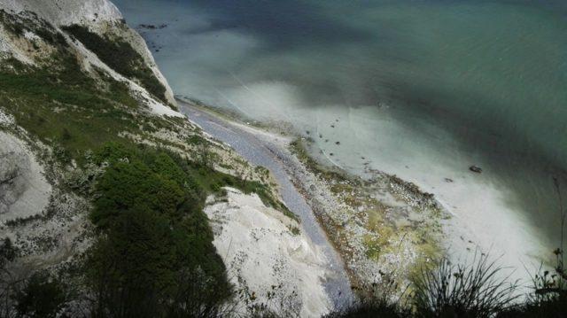 klify - wyspa Mon