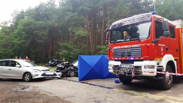 Puszczykowo Nadwarciańska - Mocka wypadek