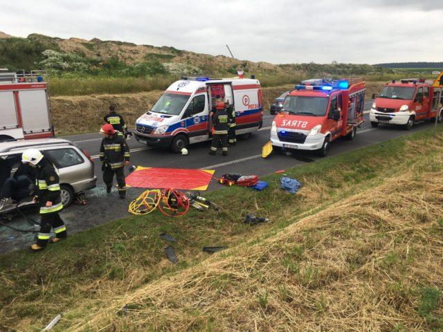 wypadek na DK5