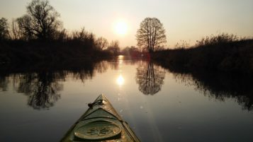 szlak kajakowy - kanał mosiński