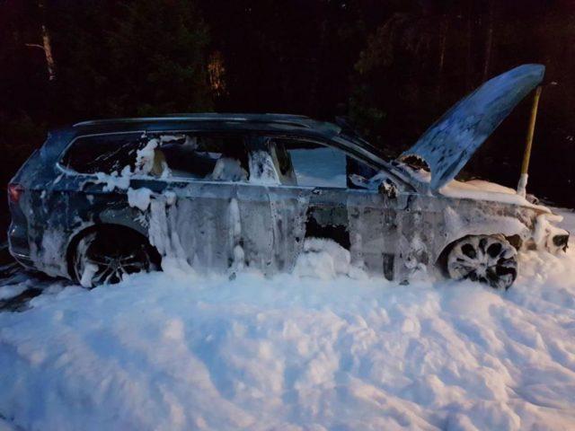 Spalone auto Rogalinek