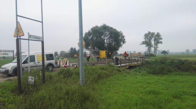 Remont mostu Dymaczewo Nowe