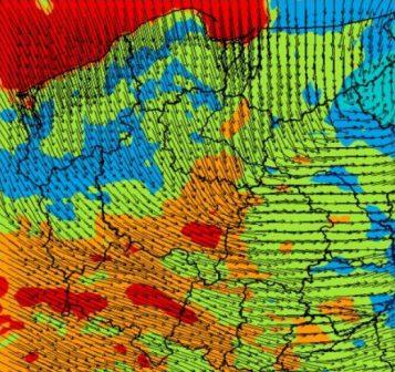 Wiatr w Polsce - orkan Grzegorz
