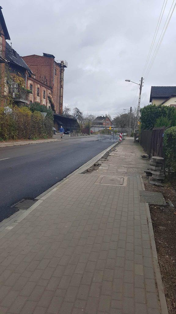 ulica Kolejowa fot. Rafał Bartkowiak