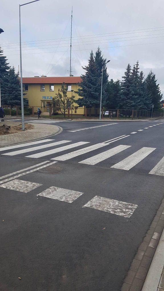 widok na komisariat Policji fot. Rafał Bartkowiak