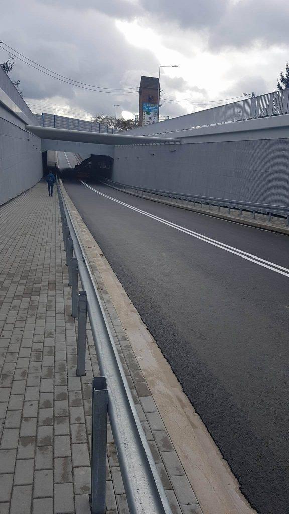 Gotowy tunel na ul. Śremskiej - fot. Rafał Bartkowiak