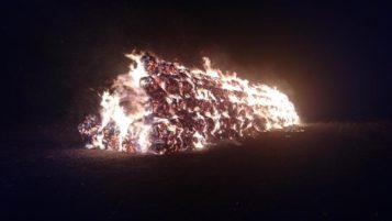 pożar Borkowice