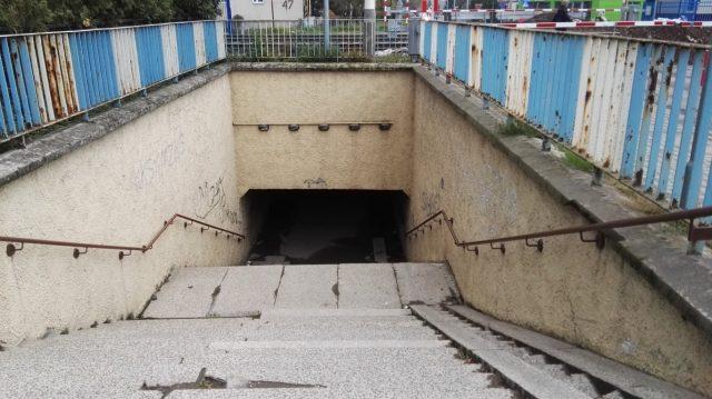 Przejście podziemne ul. Sowiniecka w Mosinie