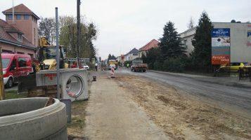 Remont ulicy Śremskiej