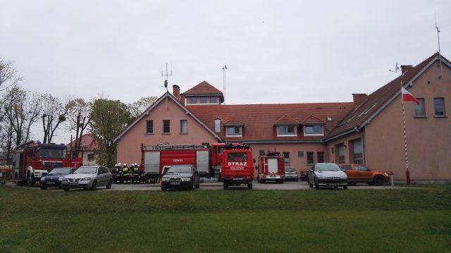 Remiza strażacka w Mosinie