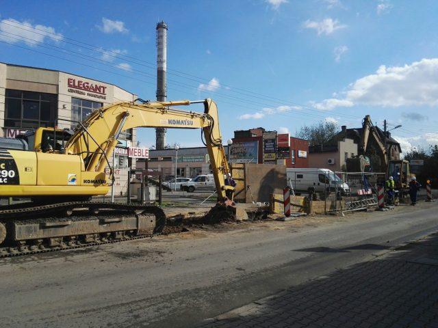 remontowana ul. Śremska w Mosinie