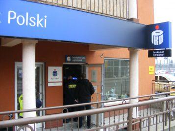 włamanie do bankomatu PKO w Mosinie