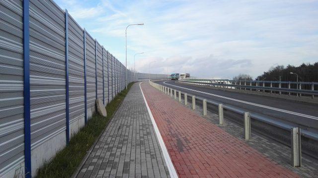 ścieżka pieszo - rowerowa