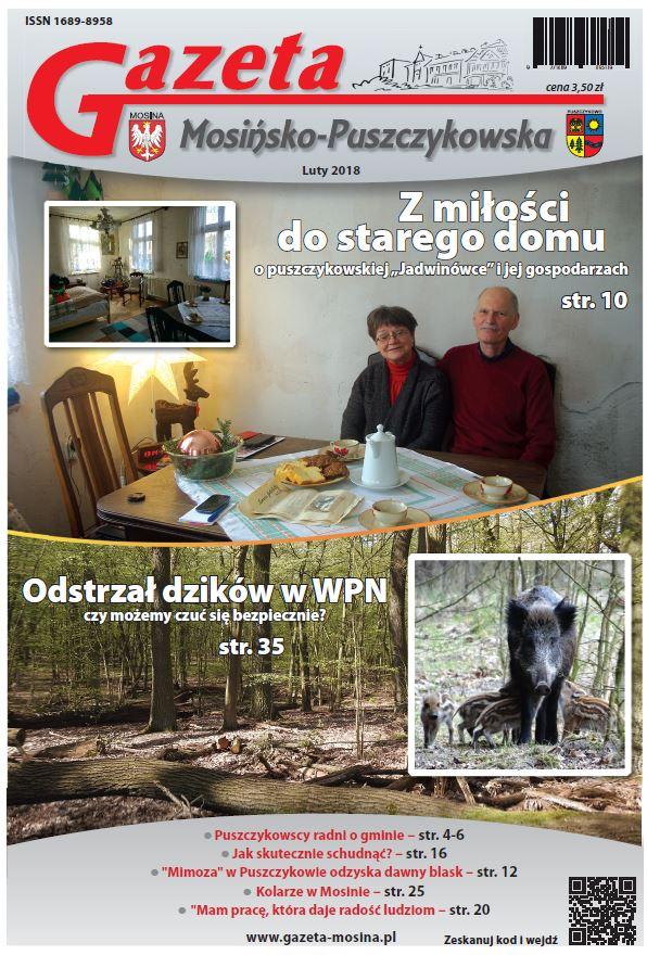 Gazeta Mosińsko-Puszczykowska wydanie Luty 2018 r.