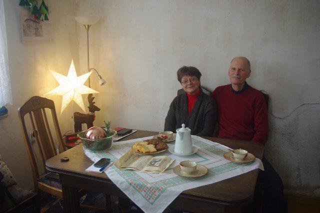 Henryka i Jerzy Stępniakowie w Jadwinówce