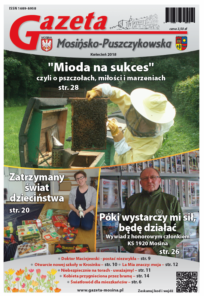 kwietniowe wydanie Gazety Mosińsko-Puszczykowskiej
