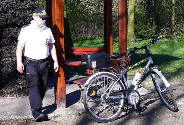 Rowerowy patrol Straży Miejskiej w Mosinie