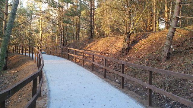 Pieszo - rowerowa ścieżka edukacyjna na Pożegowie