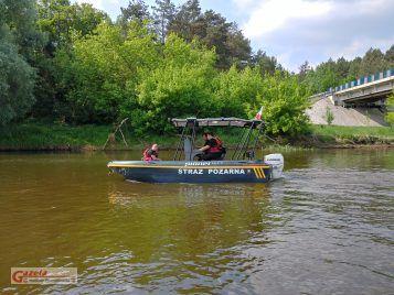 sekcja wodna Heavy Rescue SGRT OSP Mosina - patrol na Warcie
