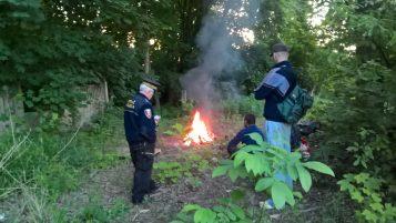 interwencja straży miejskiej w Mosinie