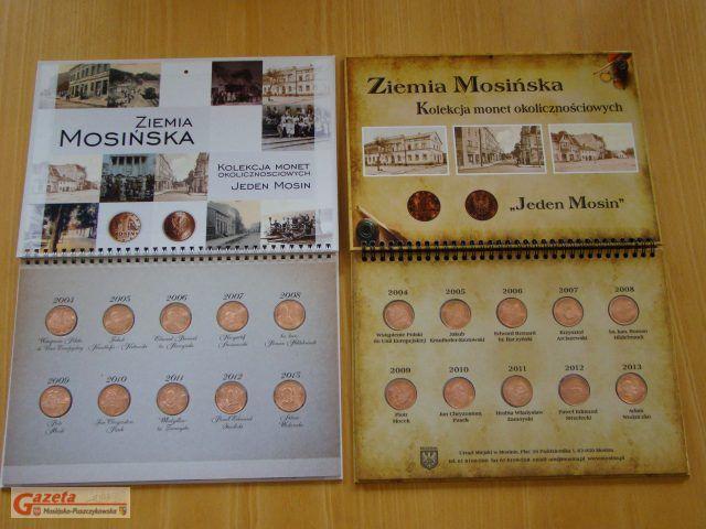 Jeden Mosin - kolekcja monet okolicznościowych