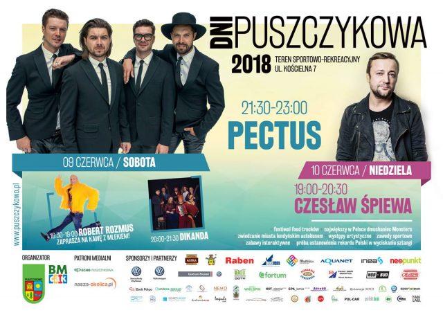 dni Puszczykowa 2018 - plakat