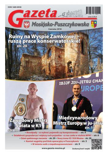 czerwcowe wydanie Gazety Mosińsko-Puszczykowskiej
