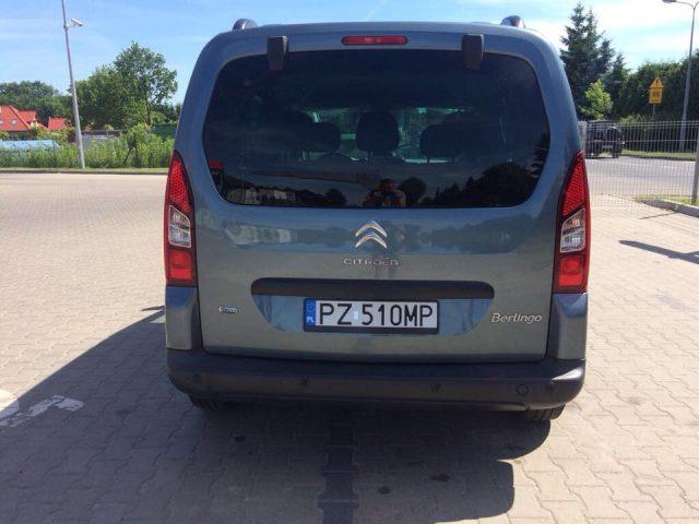 skradziony samochód na ul. Głogowej w Mosinie
