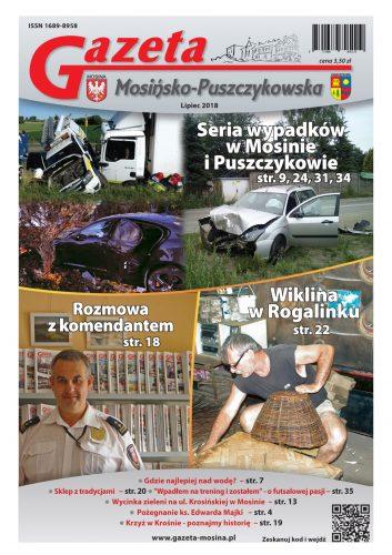 lipcowe wydanie Gazety Mosińsko-Puszczykowskiej