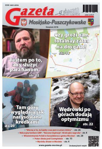 sierpniowe wydanie Gazety Mosińsko-Puszczykowskiej