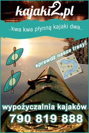 wypożyczalnia kajaków Mosina, Puszczykowo Warta