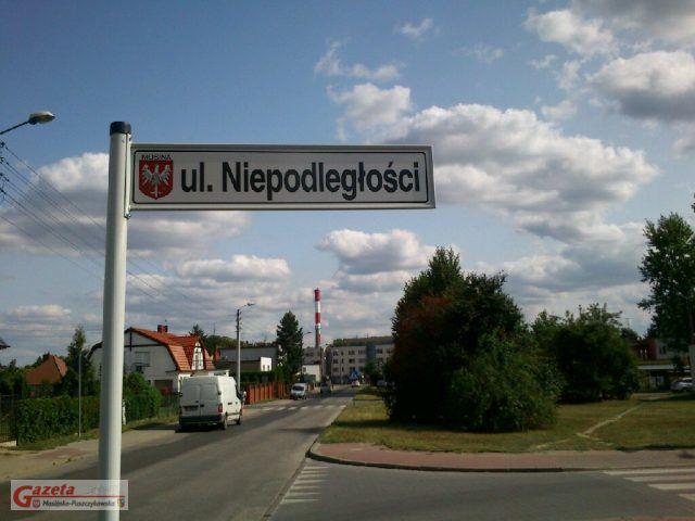 Mosina, ulica Niepodległości (25 Stycznia)