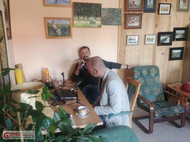 Tomasz Kaczmarek i Piotr Milewski - premierowa audycja w redakcji GMP