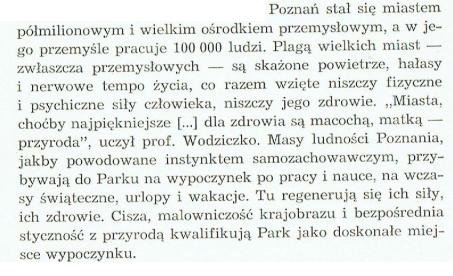 """słowa Franciszka Jaśkowiaka z książki pt.""""Wielkopolski Park Narodowy - przewodnik"""""""