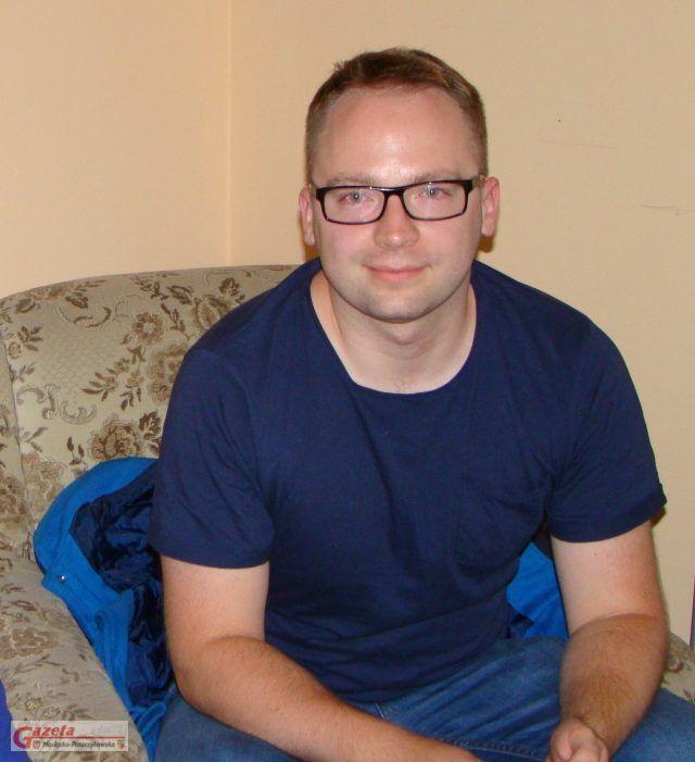 Dominik Michalak - w redakcji GMP