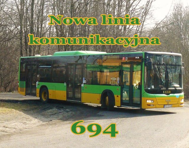 Nowa linia komunikacyjna nr 694