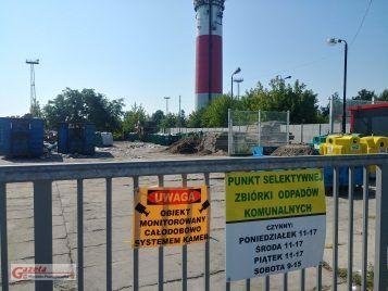 Punkt selektywnej zbiórki odpadów komunalnych tzw. PSZOK w Mosinie