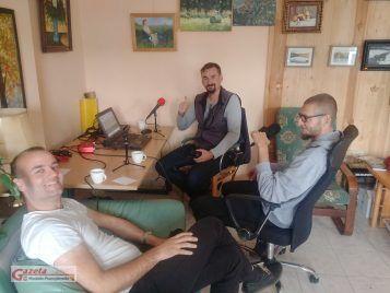 Filip Gołembiewski, Tomasz Kaczmarek, Piotr Wilanowski - audycja w redakcji GMP
