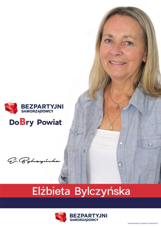 Elżbieta Bylczyńska - kandydatka do Rady Powiatu - Bezpartyjni Samorządowcy