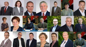 Radni Rady Miejskiej w Mosinie - kadencja 2018 - 2022