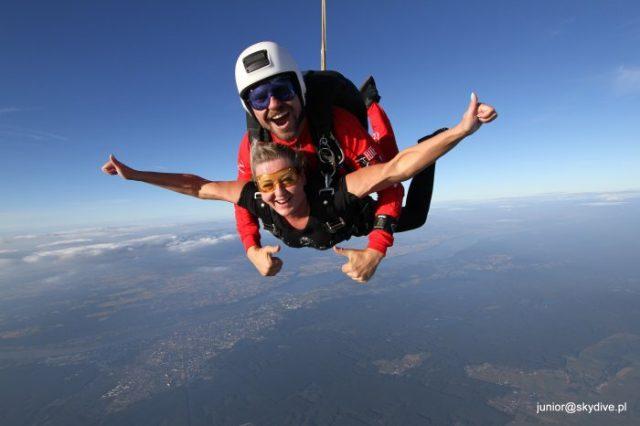 skok na spadochronie