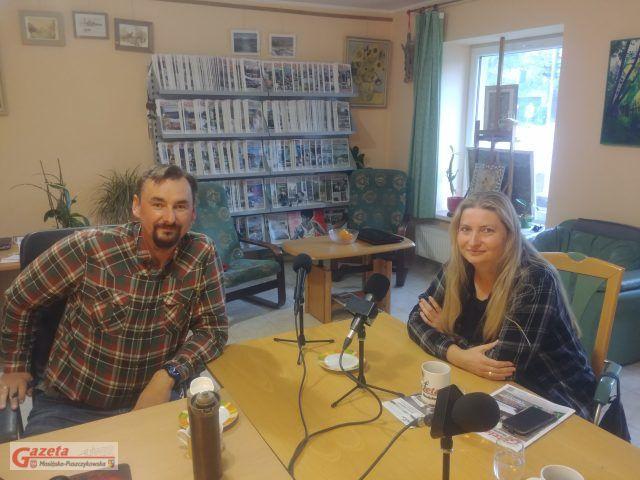 Izabella Chodorowska z e-lubon.pl i Tomasz Kaczmarek