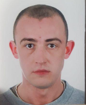 zaginiony Łukasz Kaczmarek, mieszkaniec Lubonia