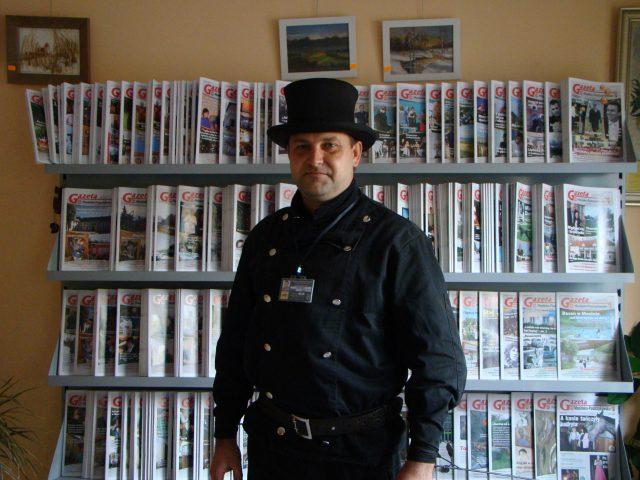 Mistrz Kominiarstwa - Marek Fabisz w redakcji GMP