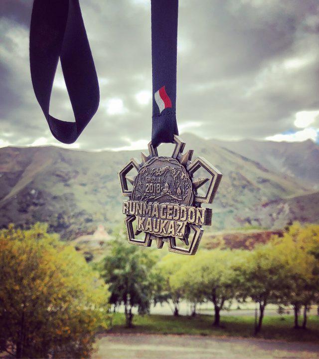 Runmageddon Kaukaz - medal