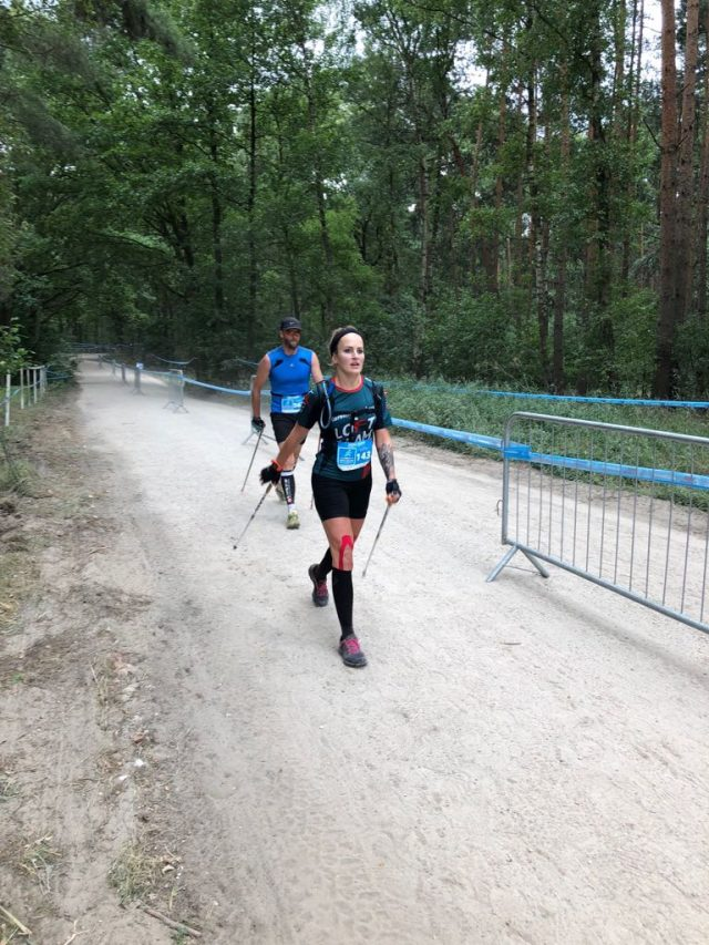 Karolina Ilowska-Rembarz, wicemistrzyni w nordic walking